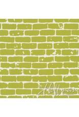 Me+You by Hoffman Fabrics Grafic - Brick Wall Sulfur