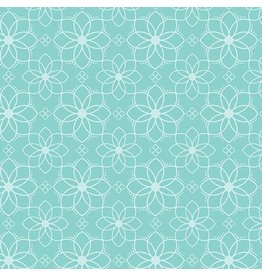 Contempo Gloaming - Mandala Aqua