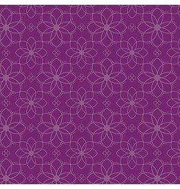 Contempo Gloaming - Mandala Mulberry