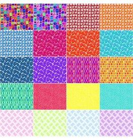 Contempo Christa Watson - Abstract Garden - 10 x 10 pack
