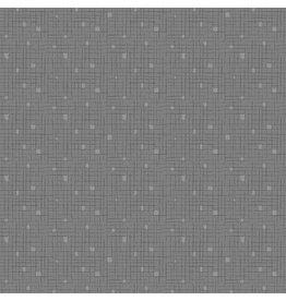 Contempo Fandangle - Confetti Crosshatch Dark Grey
