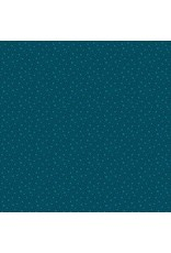 Figo Mountain Meadow - Small Leaves Teal