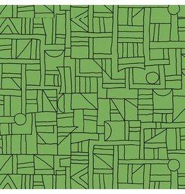 Contempo Printology - Sketch Green