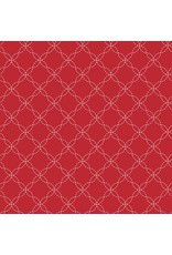 Maywood Studio Lattice - Red