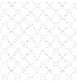 Maywood Studio Lattice - White on White