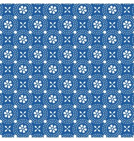 Maywood Studio Dotted Circles - Blue