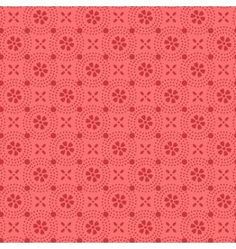 Maywood Studio Dotted Circles - Peachy Pink