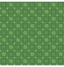 Maywood Studio Dotted Circles - Green