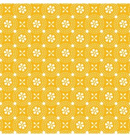 Maywood Studio Dotted Circles - Yellow