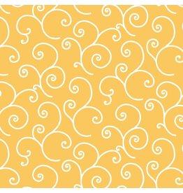 Maywood Studio Scroll - Yellow