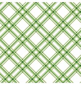 Maywood Studio Diagonal Plaid - Green