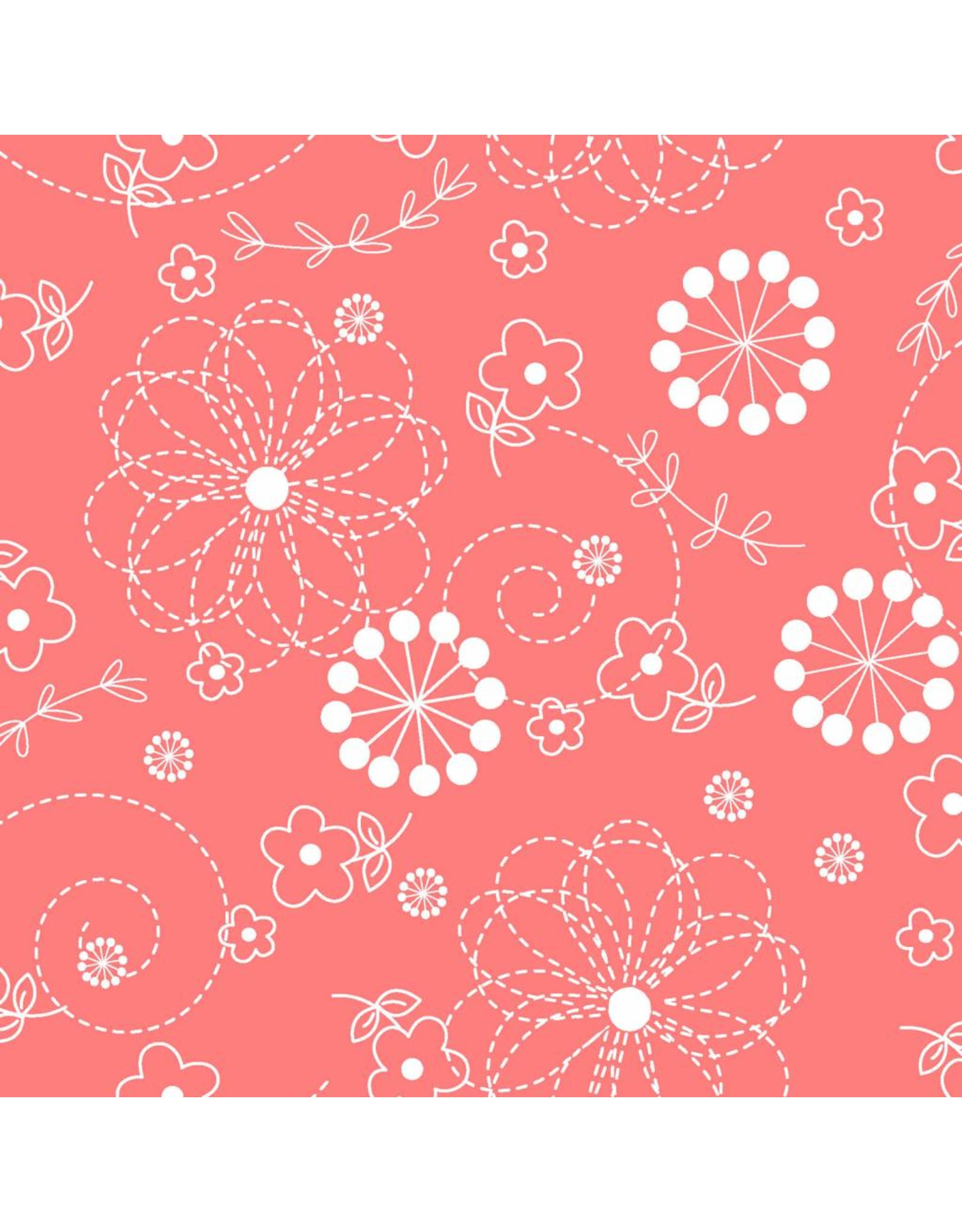 Maywood Studio Doodles - Peachy Pink