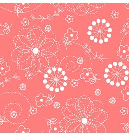 Maywood Studio Doodles - Peachy Pink