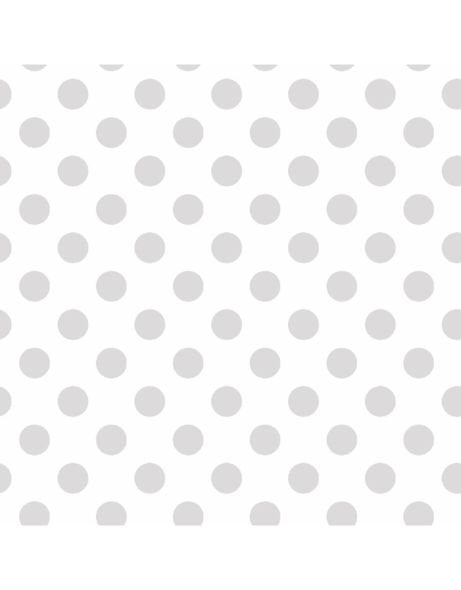Maywood Studio Dots - White on White