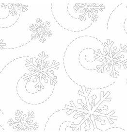 Maywood Studio Snowflakes - White on White