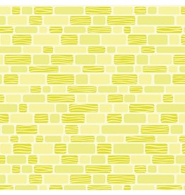 Contempo Free Motion Fantasy - Bricks Lime