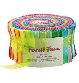 Benartex Fossil Fern Brights - Strip-pies