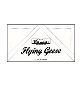 Bloc Loc Flying Geese Square Up Ruler Set 3 - 2x4 - 3x6 inch