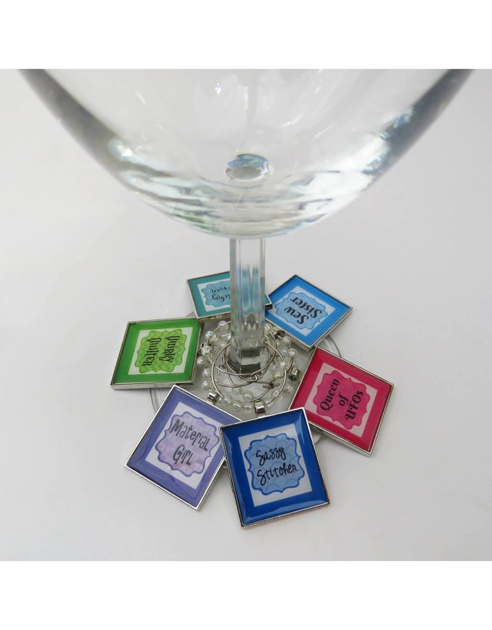 Diversen Sew Charming - Wine Charms