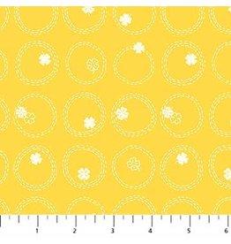 Figo Lucky Charms - Clovers Yellow
