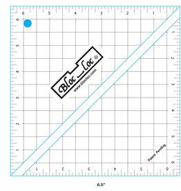 Bloc Loc Half Square Triangle Ruler - 6,5 x 6,5 inch