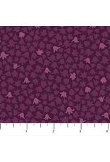 Figo Mountain Meadow - Small Leaves Purple