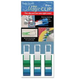 Magic Clips Big - 6 stuks