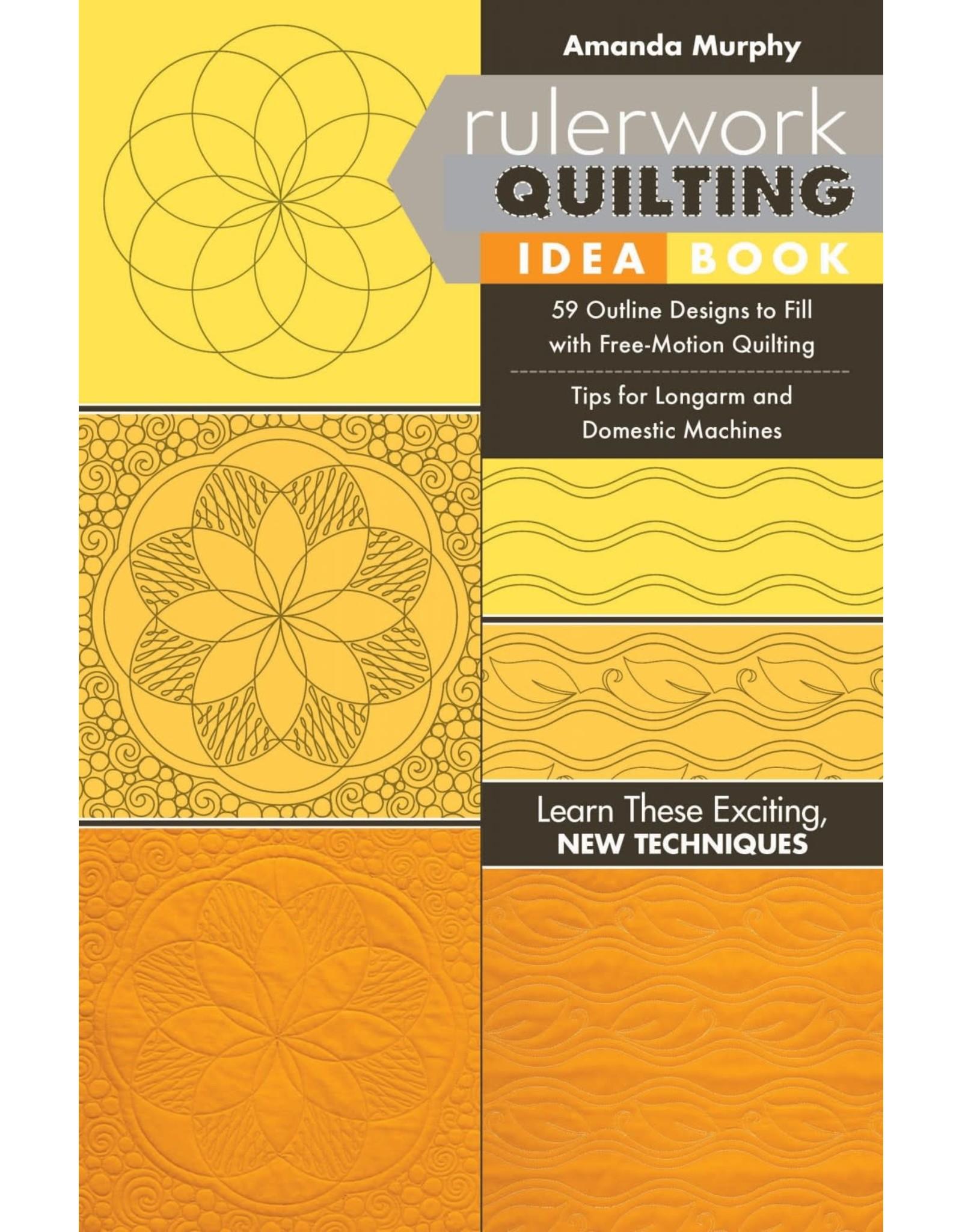 Rulerwork Quilting Idea Book - Amanda Murphy