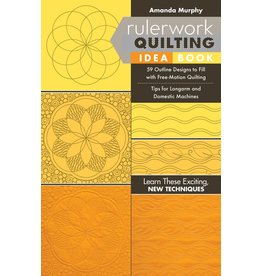 Rulerwork Quilting Idea Book - Amanda Murphy