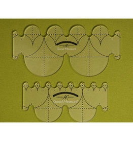 Every Clamshell Set - Quilting Template - High Shank