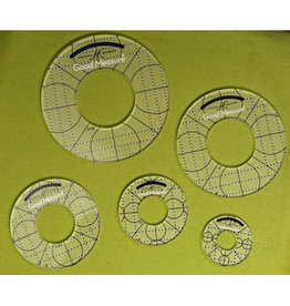 Every Circle Set - Quilting Template - High Shank