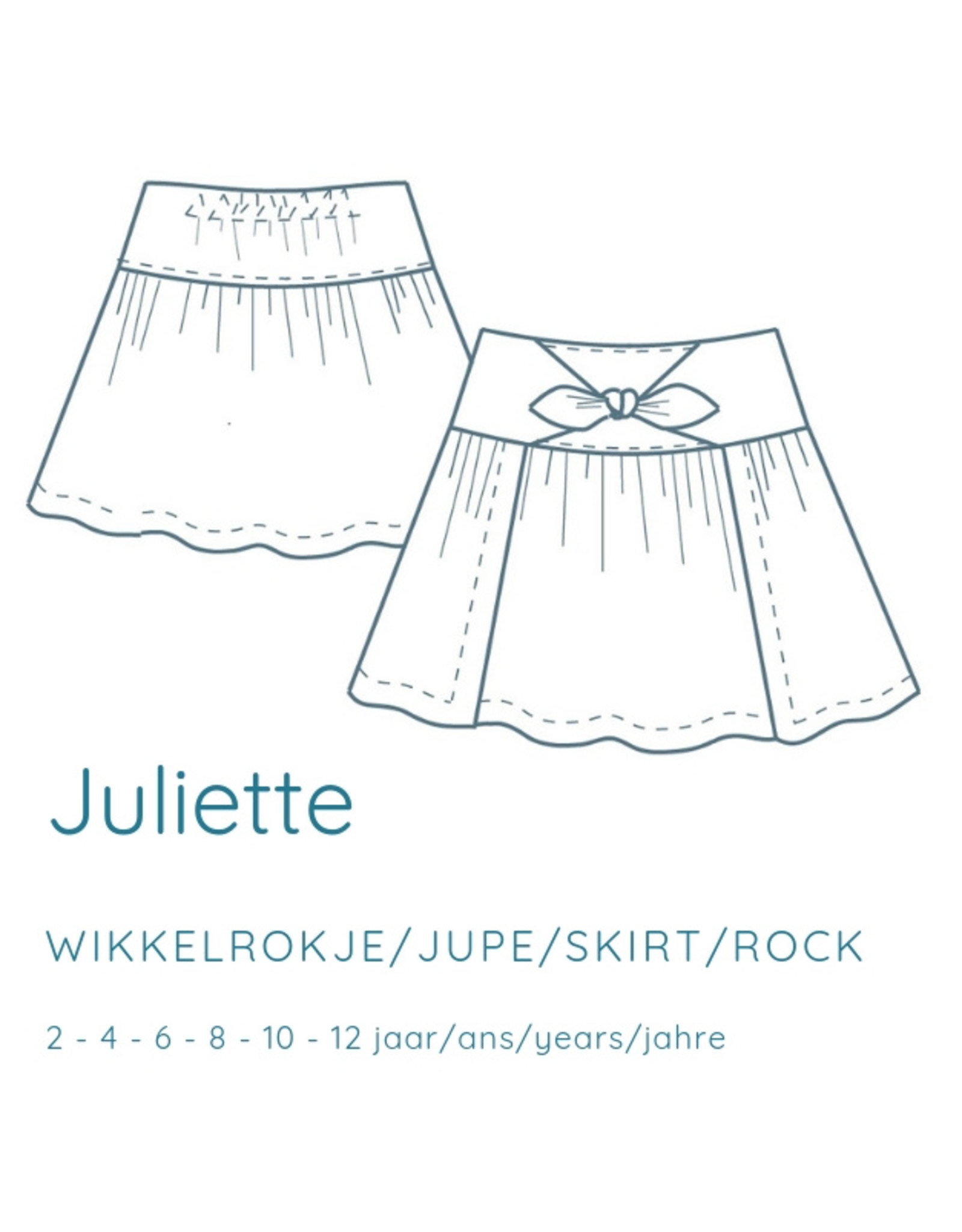 Coup Coup Coup Coup naaipatroon - Juliette