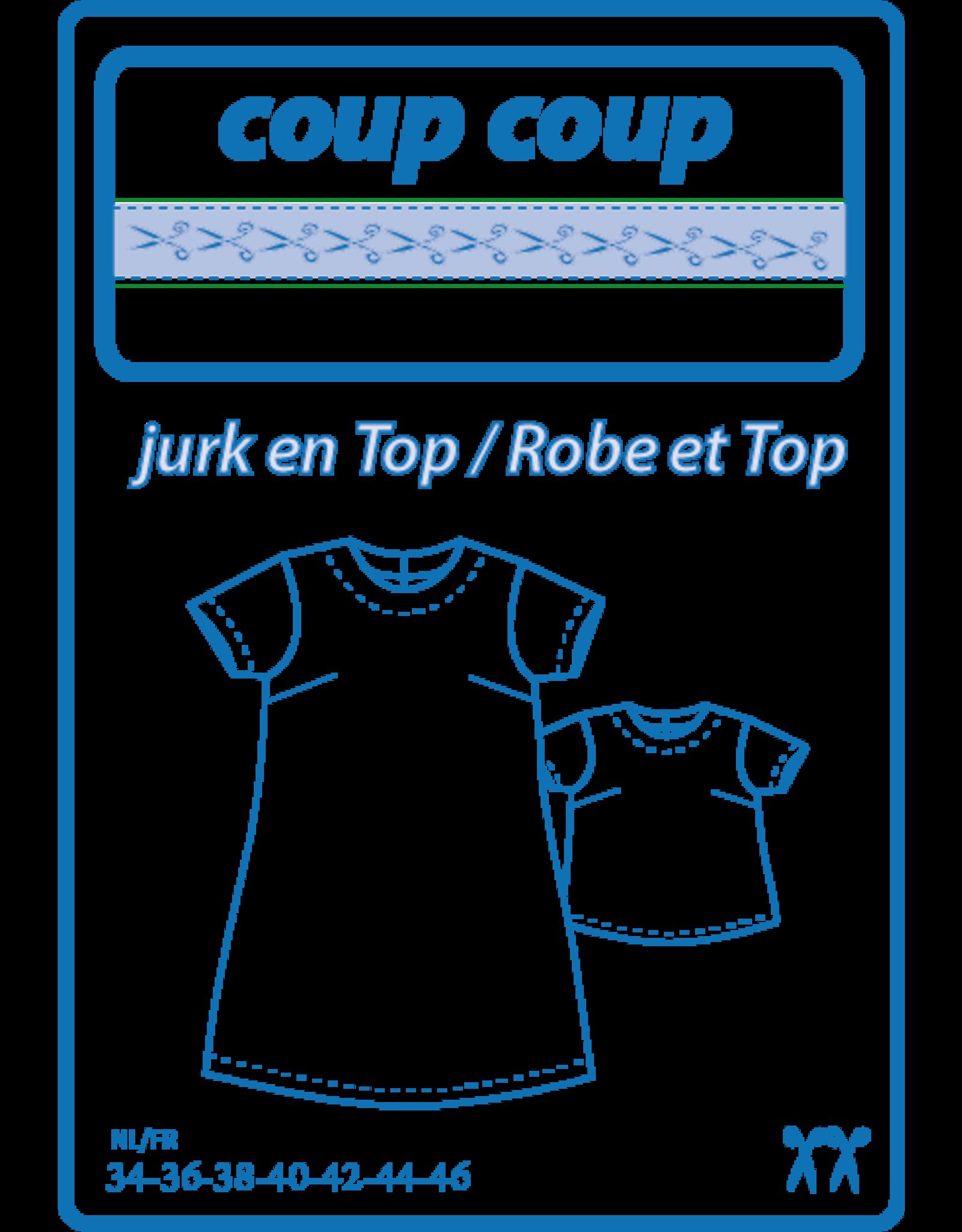 Coup Coup Coup Coup naaipatroon - Damesjurk + Top