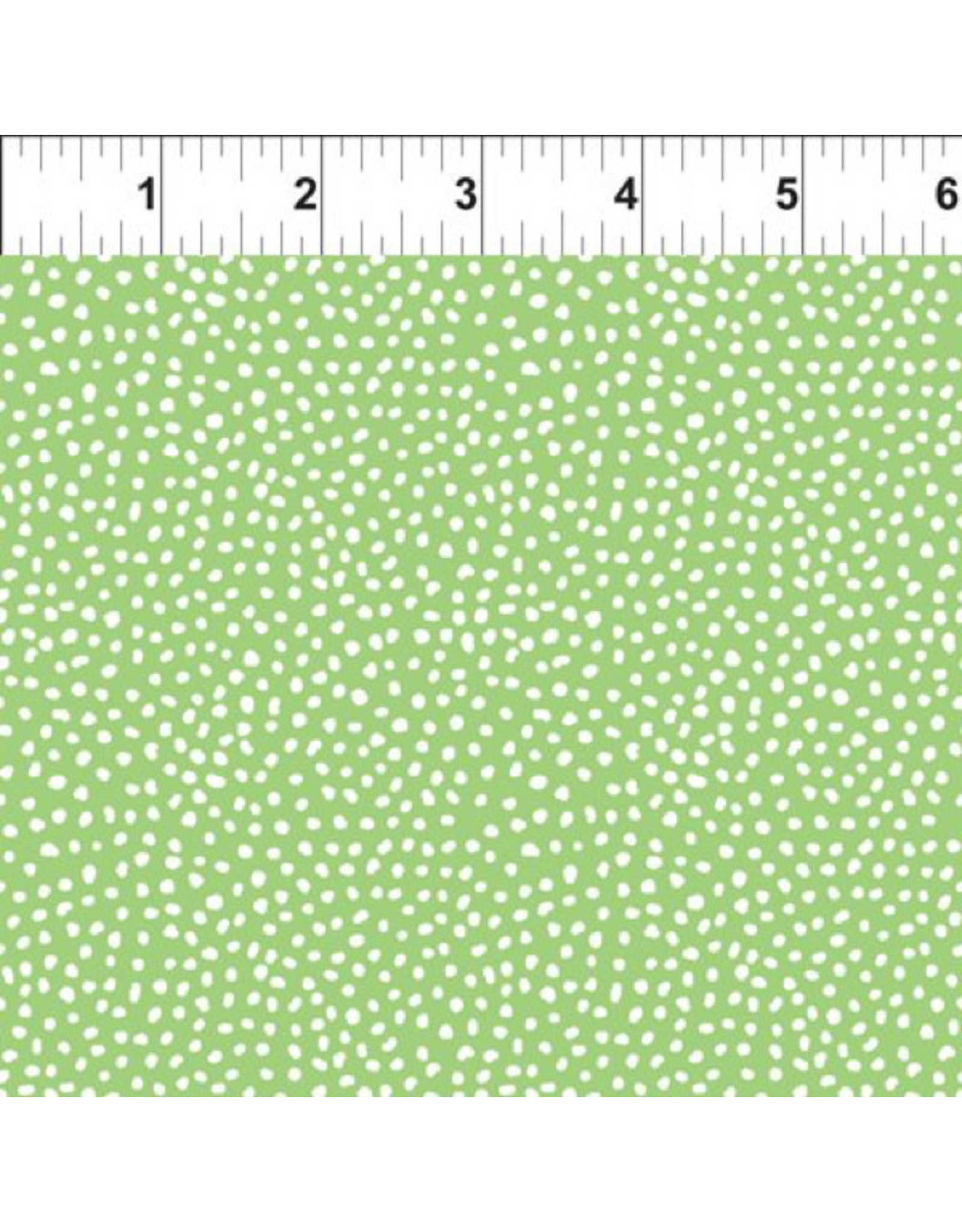In the Beginning Doodle Blossoms - Small Dots Green