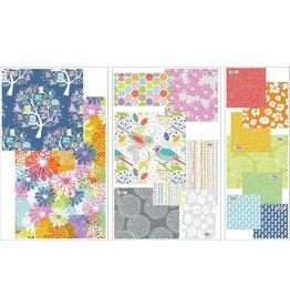 In the Beginning Doodle Blossoms - Fat Quarter pakket