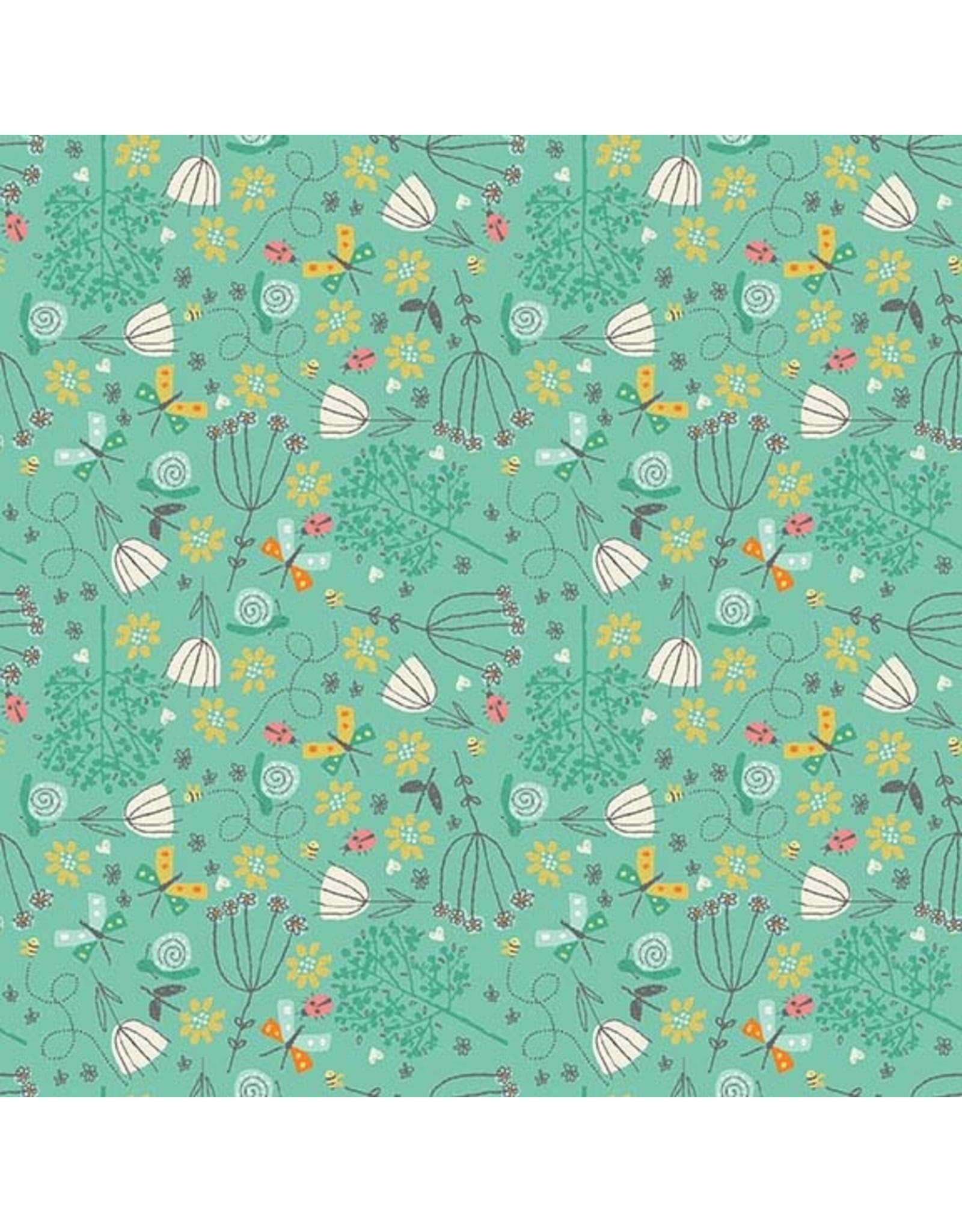 Makower UK A Walk in the Park - Flowers Mint