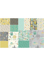 Makower UK A Walk In the Park - Fat Quarter pakket