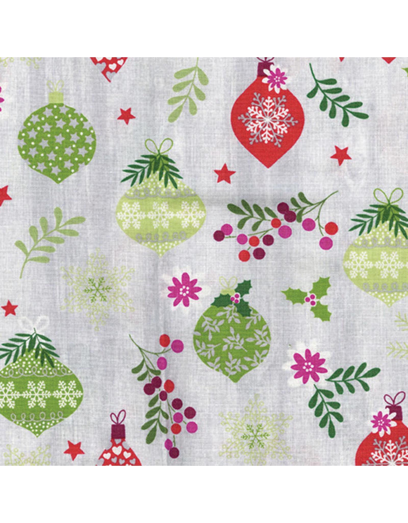 Contempo Hearty the Snowman - Ornament Toss Grey/Multi