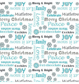 Contempo Hearty the Snowman - Sweet Wishes Turquoise