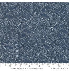 Moda Boro - Shashiko Vintage Blue