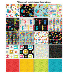 Kanvas Sew Excited - 10 x 10 Pack