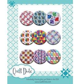 Zappy Dots Quilt Dots - Star Crossed - 9 magneten