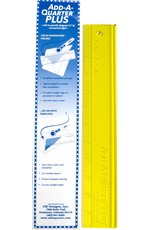 CM Designs Add A Quarter Ruler Plus - 12 inch