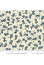 Moda Origami - Plum Blossom Cream Teal