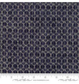 Moda Origami - Pleat Dark Blue
