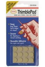 Colonial Needle Thimble Pad Leather - plakbaar