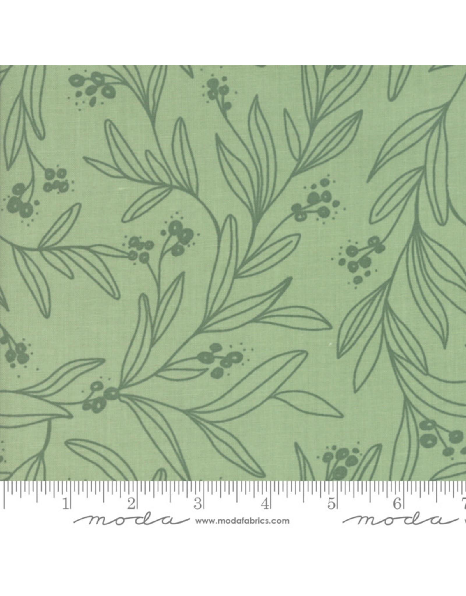 Moda Little Tree - Mistletoe Light Green