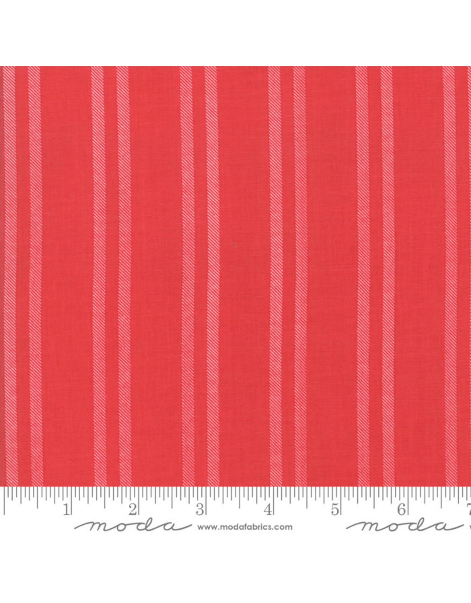 Moda Little Tree - Farmhouse Stripe Red