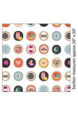 Kanvas Studio Knit Together - Knitting Circles White