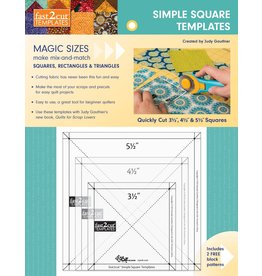 CT Publishing Fast2cut - Simple Square Templates